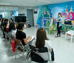 뮤지컬잉글리시 Workshop 사진